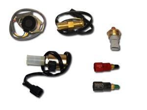 Części elektryczne do maszyn budowlanych czujniki sensory cewki